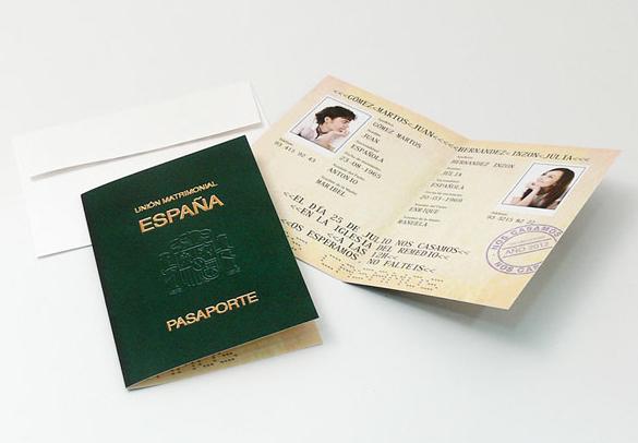 Invitaciones para viajeros