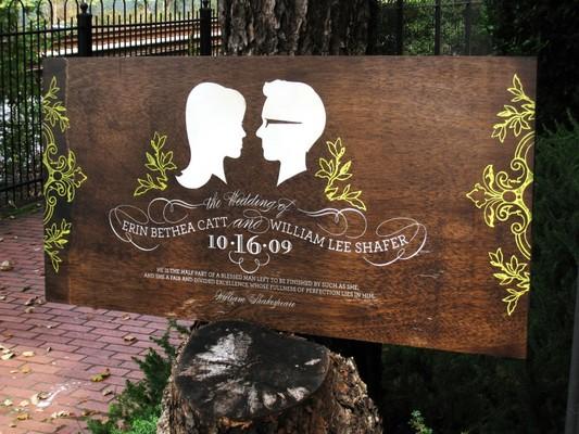 Señaléctica bodas Galicia