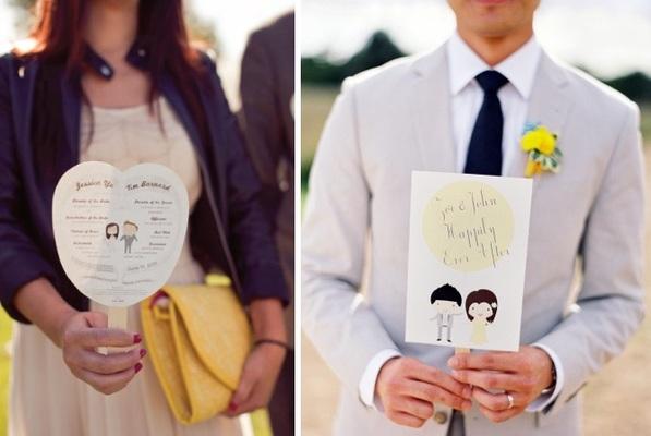 Abanicos boda