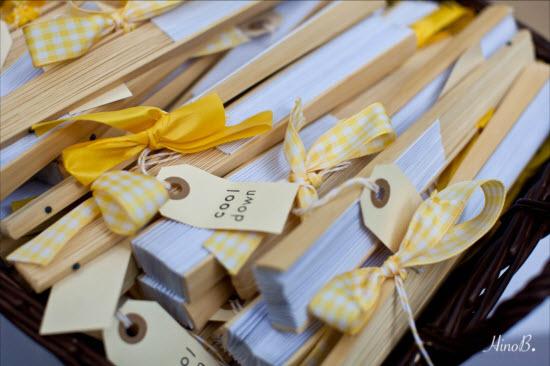 Ideas originales para bodas veraniegas tu boda en galicia - Ideas de decoracion originales ...