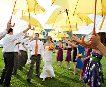 paraguas boda