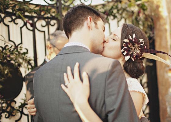tocados originales para novia