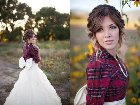 vestidos originales para novias