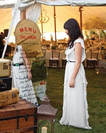 minutas originales boda