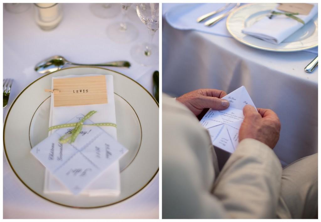 minutas originales bodas
