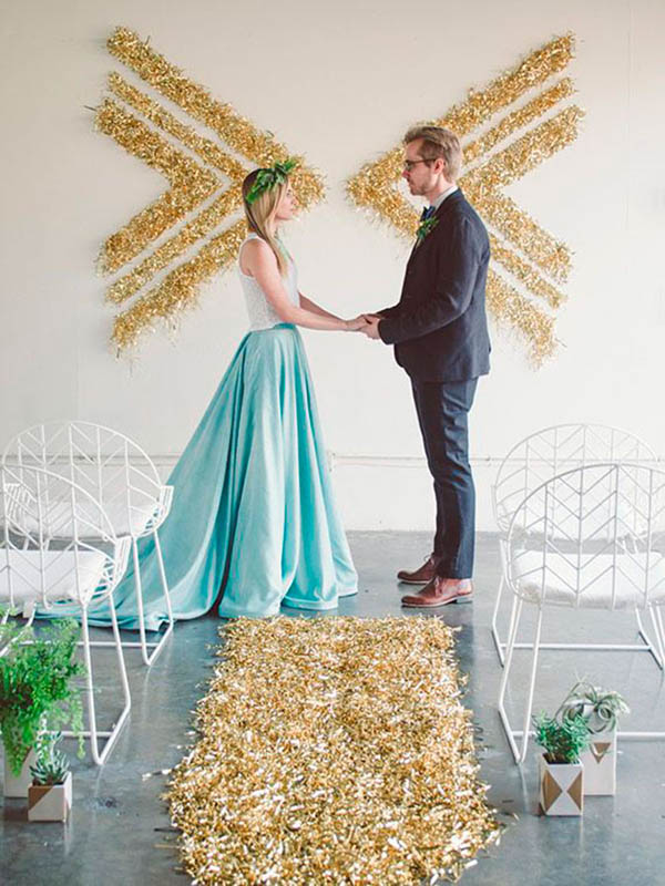 decoración altares boda