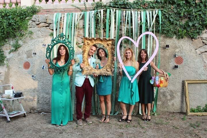 Photocalls originales para bodas tu boda en galicia - Como hacer un photocall ...