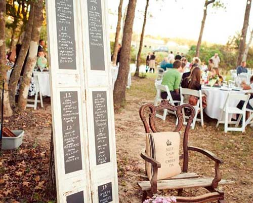 seating originales bodas