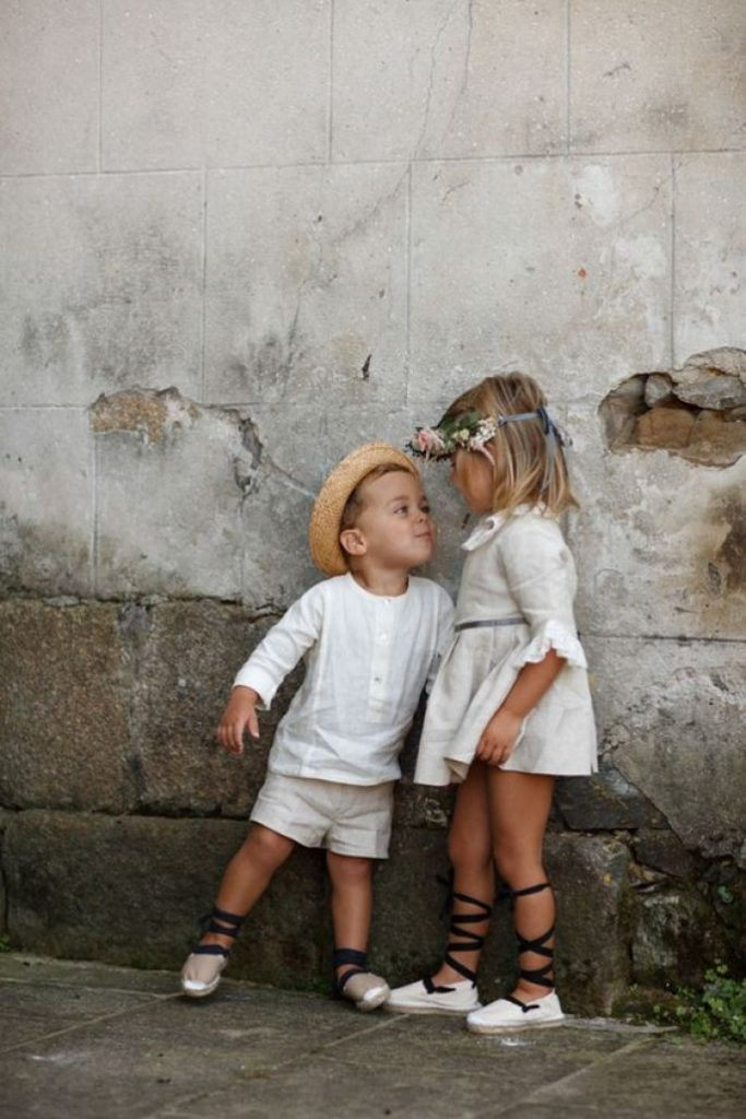alpargatas niños arras