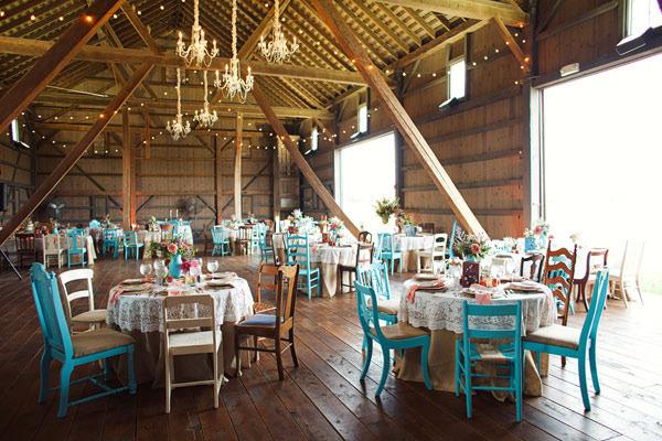 mesas bodas originales