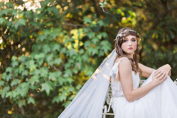 peinados con trenzas para novias