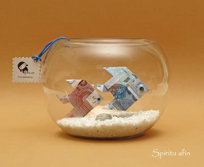 ideas originales para regalar dinero