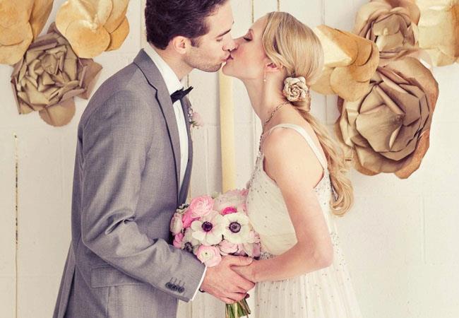 novias con coleta