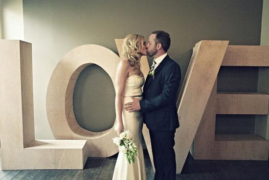 letras gigantes bodas