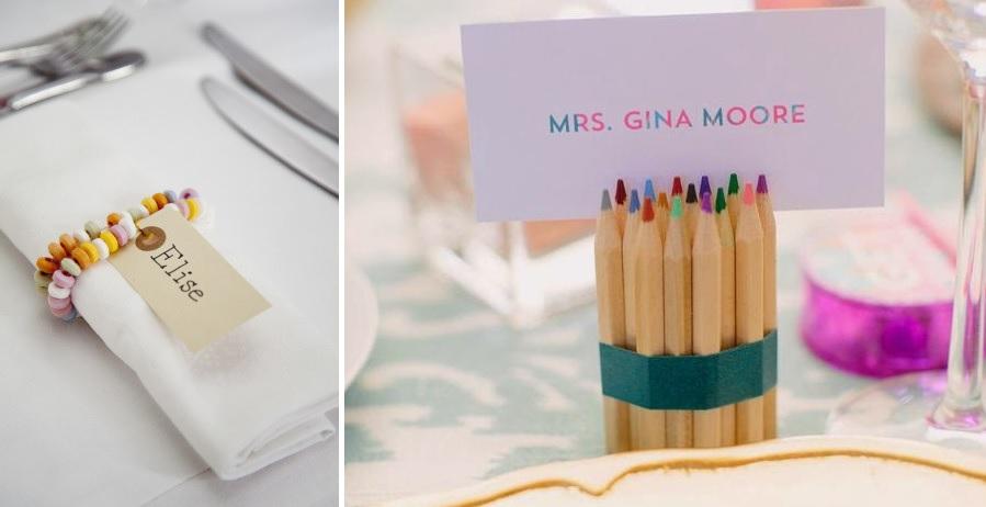 ideas originales niños boda