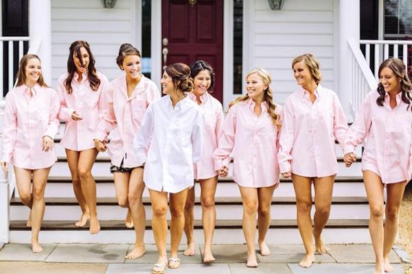 pijamas novia