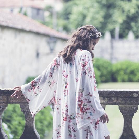 kimonos novia