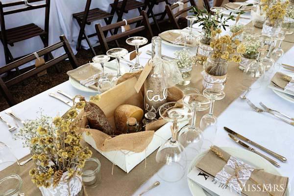 meseros bodas